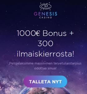 genesis bonus