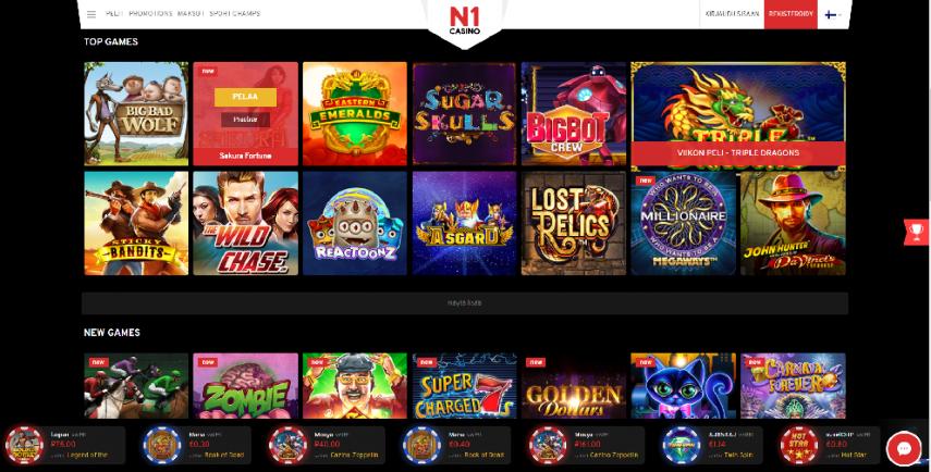 n1 casino-screenshot