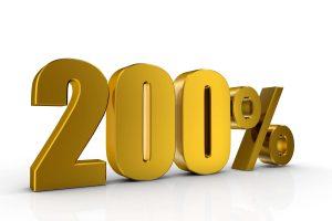 200%-talletusbonus
