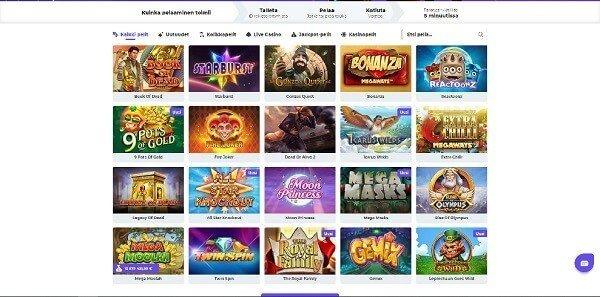 boost-casino-pelivalikoima