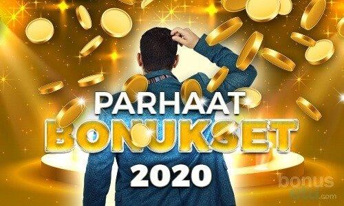 parhaat casino bonukset 2020