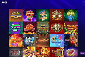 race-casino-pelivalikoima